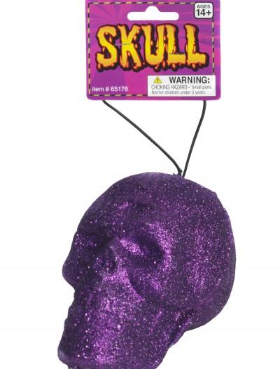 Purple Glitter Skull, halloween costume (Purple Glitter Skull)
