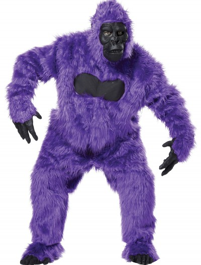 Purple Gorilla Suit, halloween costume (Purple Gorilla Suit)