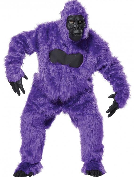 Purple Gorilla Suit, halloween costume (Purple Gorilla Suit)