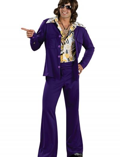 Purple Leisure Suit, halloween costume (Purple Leisure Suit)