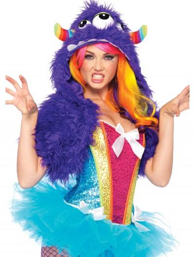 Purple Monster Fur Shrug, halloween costume (Purple Monster Fur Shrug)