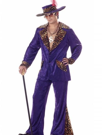 Purple Pimp Costume, halloween costume (Purple Pimp Costume)