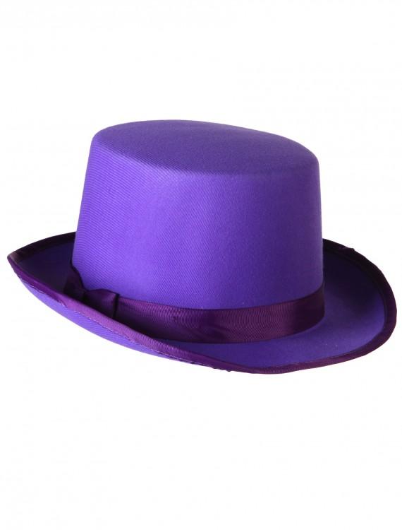 Purple Tuxedo Top Hat, halloween costume (Purple Tuxedo Top Hat)