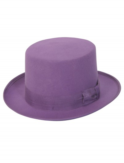 Purple Wool Top Hat, halloween costume (Purple Wool Top Hat)