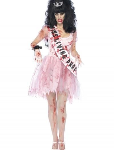 Putrid Zombie Prom Queen Costume, halloween costume (Putrid Zombie Prom Queen Costume)
