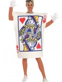 Queen of Hearts Card Costume, halloween costume (Queen of Hearts Card Costume)