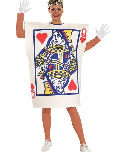 Queen of Hearts Card Costume, halloween costume (Queen of Hearts Card Costume)