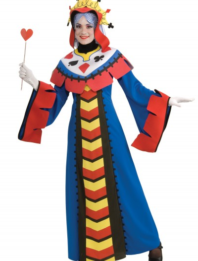 Queen of Hearts Playing Card Costume, halloween costume (Queen of Hearts Playing Card Costume)