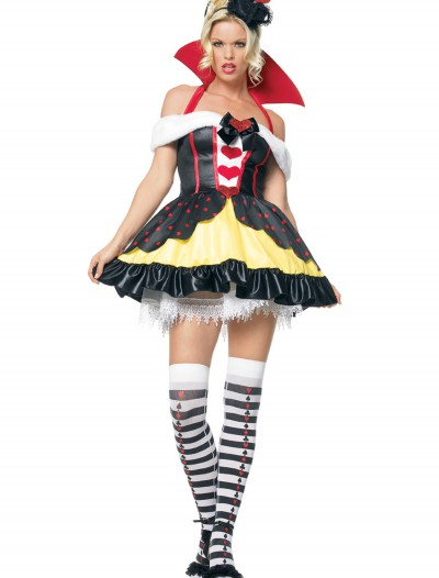 Queen of Hearts Sexy Costume, halloween costume (Queen of Hearts Sexy Costume)