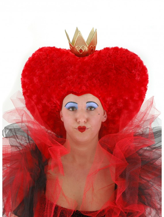 Queen of Hearts Wig, halloween costume (Queen of Hearts Wig)