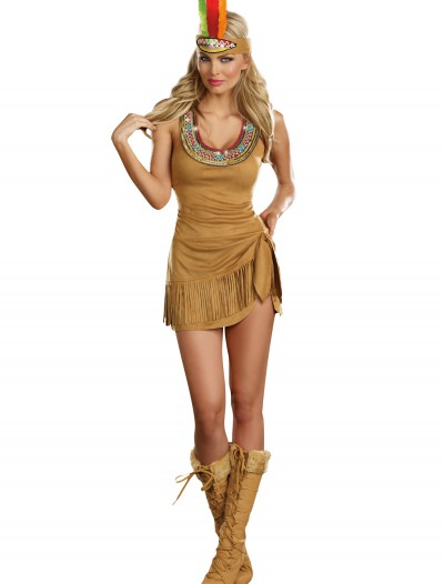 Queen of the Tribe Indian Costume, halloween costume (Queen of the Tribe Indian Costume)