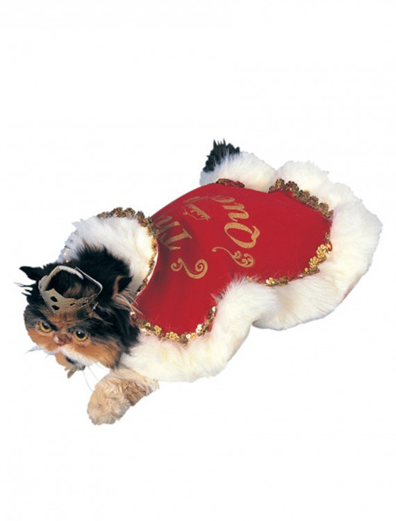 Queen Robe Pet Costume, halloween costume (Queen Robe Pet Costume)