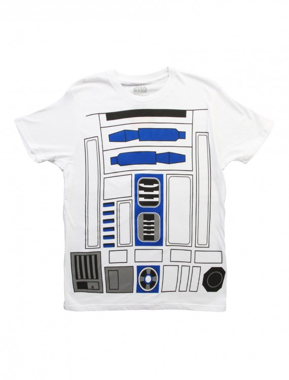 R2D2 Costume T-Shirt, halloween costume (R2D2 Costume T-Shirt)