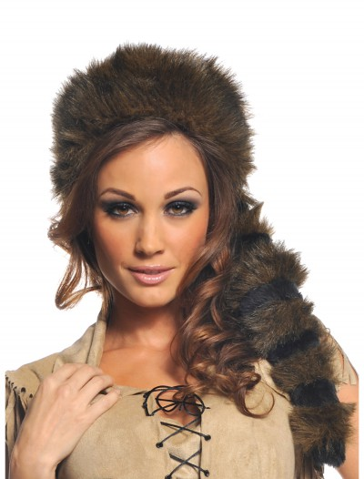 Raccoon Tail Hat, halloween costume (Raccoon Tail Hat)