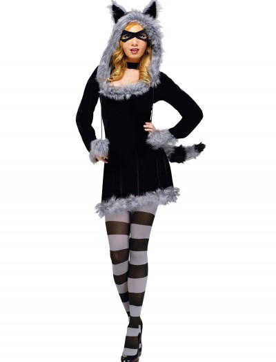 Racy Raccoon Adult Costume, halloween costume (Racy Raccoon Adult Costume)