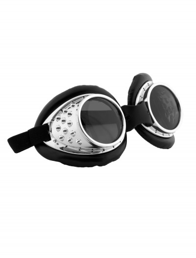 Radioactive Aviator Silver and Black, halloween costume (Radioactive Aviator Silver and Black)