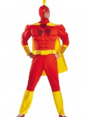 Radioactive Man Classic Muscle Adult Costume, halloween costume (Radioactive Man Classic Muscle Adult Costume)