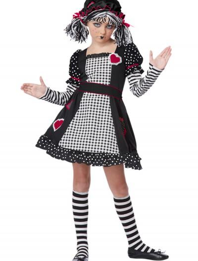 Rag Doll Girls Costume, halloween costume (Rag Doll Girls Costume)