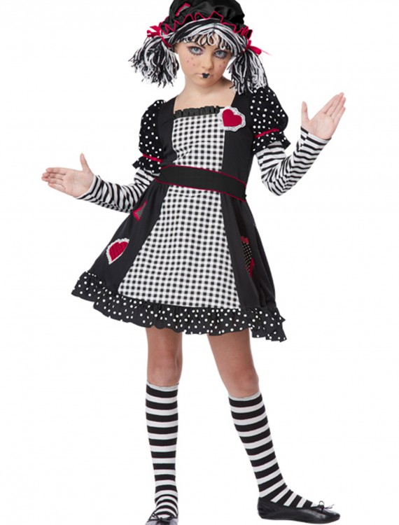Rag Doll Girls Costume, halloween costume (Rag Doll Girls Costume)