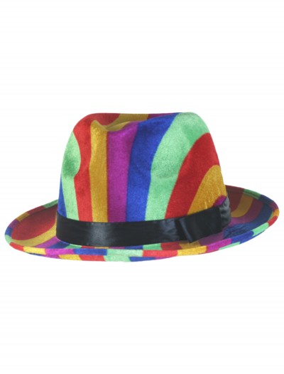 Rainbow Fedora Hat, halloween costume (Rainbow Fedora Hat)