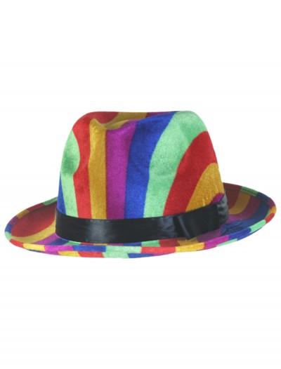 Rainbow Fedora Hat, halloween costume (Rainbow Fedora Hat)