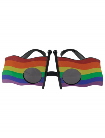 Rainbow Flag Glasses, halloween costume (Rainbow Flag Glasses)