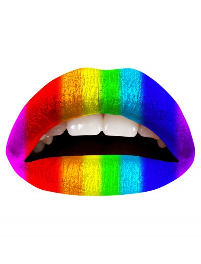 Rainbow Lip Applique, halloween costume (Rainbow Lip Applique)