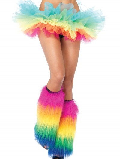 Rainbow Organza Tutu, halloween costume (Rainbow Organza Tutu)