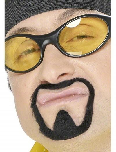 Rapper Mustache Goatee, halloween costume (Rapper Mustache Goatee)