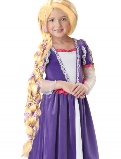 Rapunzel Wig with Flowers, halloween costume (Rapunzel Wig with Flowers)