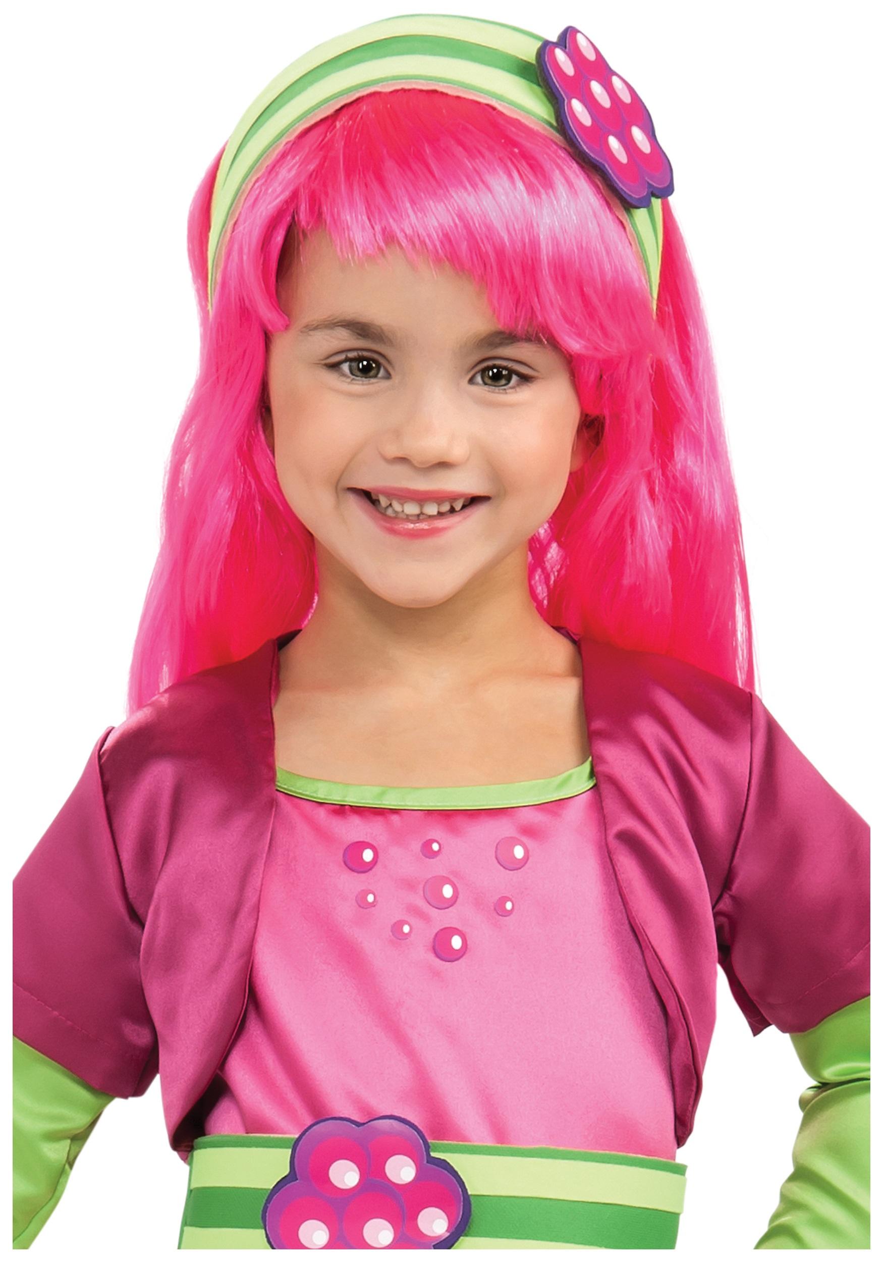 raspberry tart wig