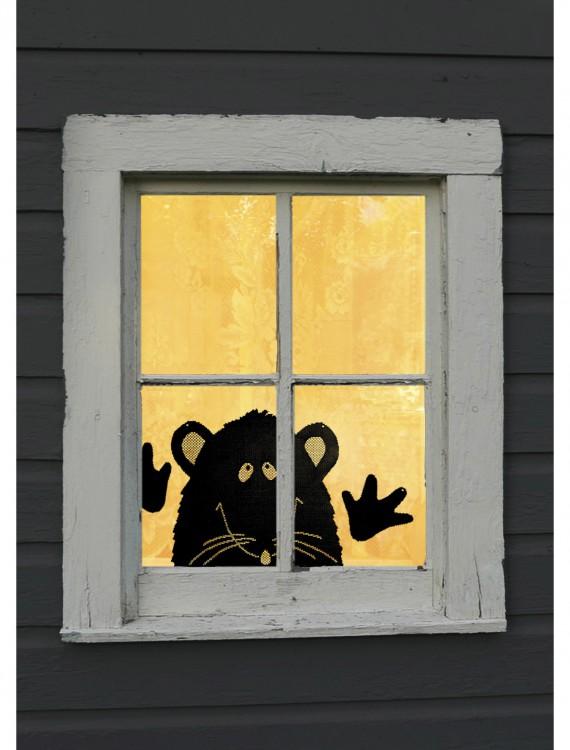 Rat Peek a Boo Window Treatment, halloween costume (Rat Peek a Boo Window Treatment)
