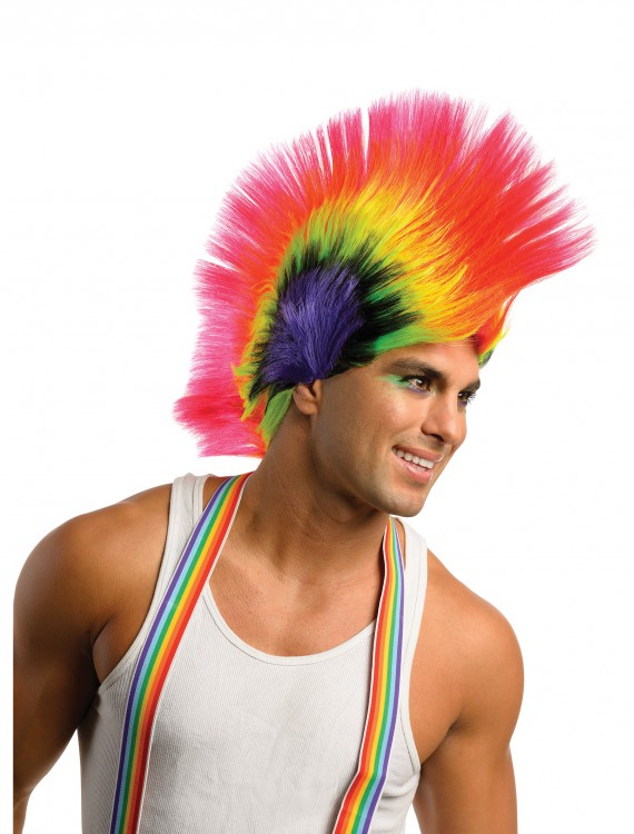 Rave Punk Wig, halloween costume (Rave Punk Wig)