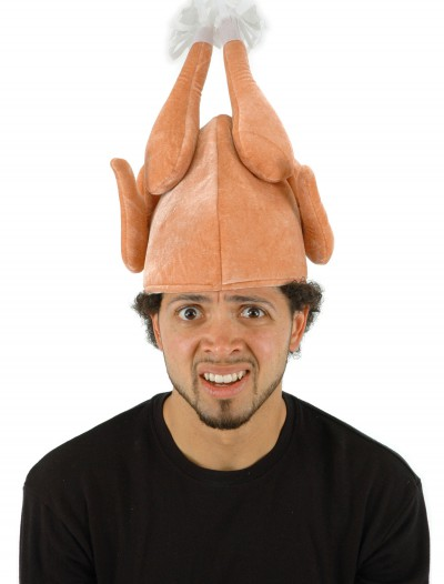 Raw Turkey Hat, halloween costume (Raw Turkey Hat)