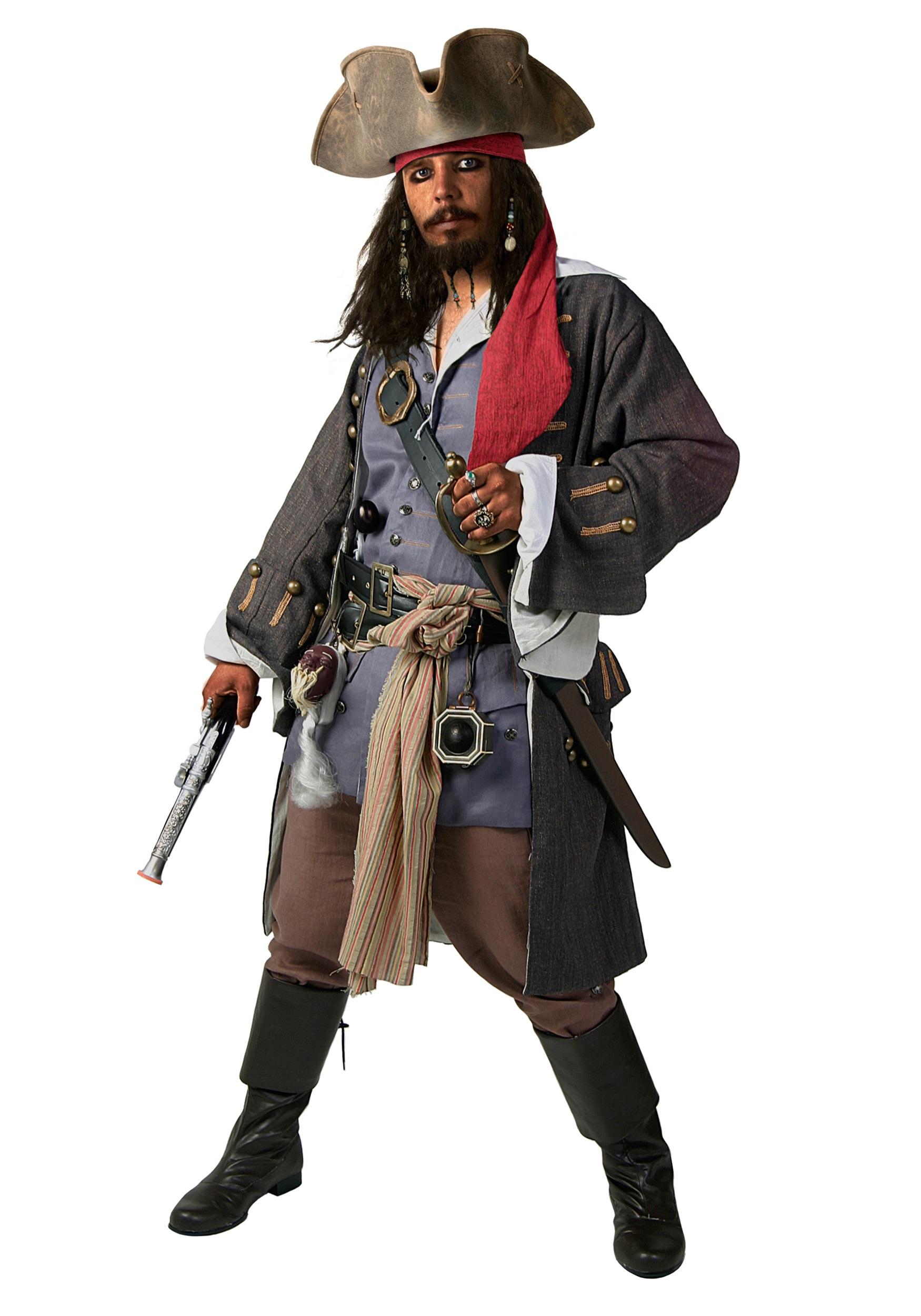 Deluxe elizabeth swan pirate costume