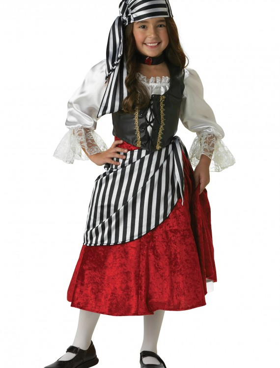 Rebel Pirate Girl Costume, halloween costume (Rebel Pirate Girl Costume)