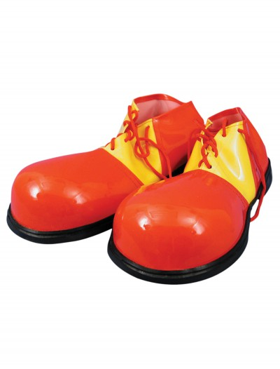 Red and Yellow Clown Shoes, halloween costume (Red and Yellow Clown Shoes)