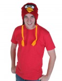 Red Angry Bird Peruvian Hat, halloween costume (Red Angry Bird Peruvian Hat)