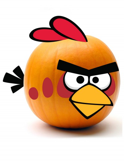 Red Angry Birds Pumpkin Kit, halloween costume (Red Angry Birds Pumpkin Kit)