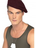 Red Beret Hat, halloween costume (Red Beret Hat)