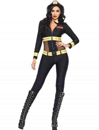 Red Blaze Firefighter Costume, halloween costume (Red Blaze Firefighter Costume)