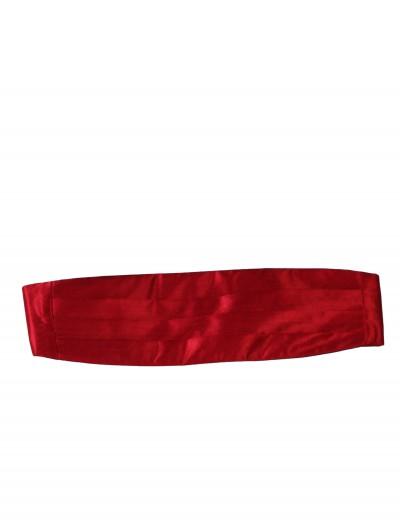Red Cummerbund, halloween costume (Red Cummerbund)