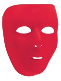 Red Full Face Mask, halloween costume (Red Full Face Mask)