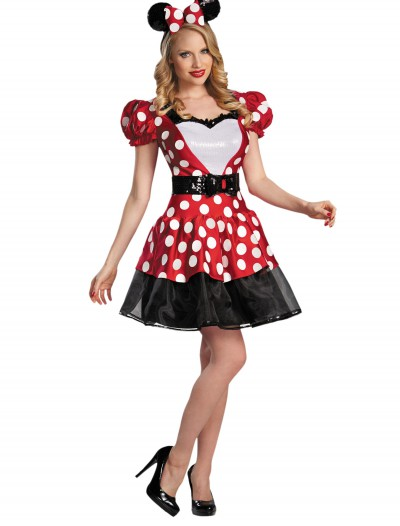 Red Glam Minnie Mouse Costume, halloween costume (Red Glam Minnie Mouse Costume)