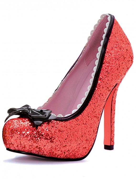 Red Glitter High Heels, halloween costume (Red Glitter High Heels)