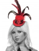 Red Heart Mini Top Hat, halloween costume (Red Heart Mini Top Hat)