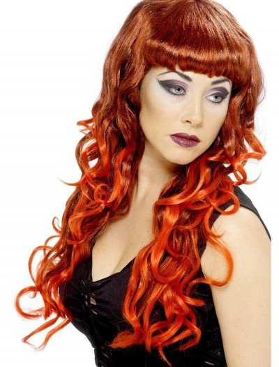 Red Hot Siren Wig, halloween costume (Red Hot Siren Wig)