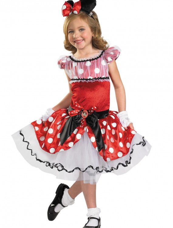 Red Minnie Tutu Prestige, halloween costume (Red Minnie Tutu Prestige)