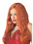 Red Movie Star Wig, halloween costume (Red Movie Star Wig)