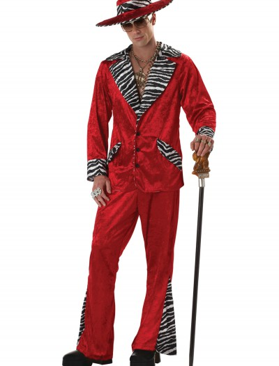 Red Pimp Costume, halloween costume (Red Pimp Costume)
